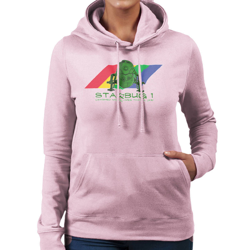 Red Dwarf Starbug 1 Crashed More Than ZX81 Spectrum Women's Hooded Sweatshirt by DeMilburn - Cloud City 7