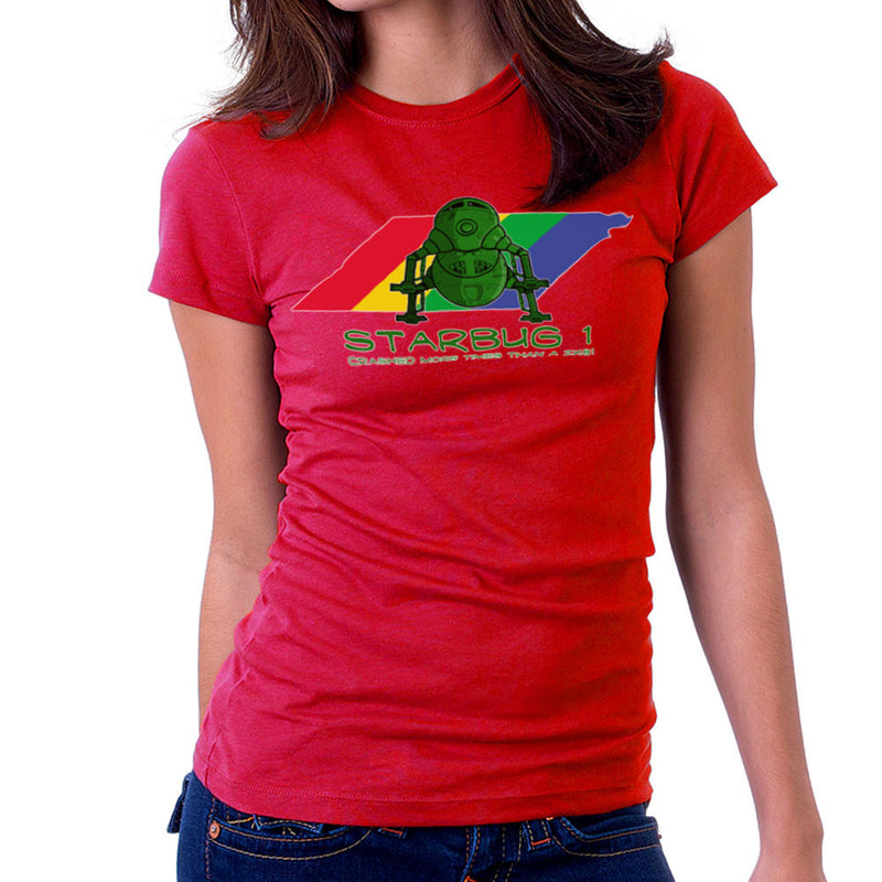 Red Dwarf Starbug 1 Crashed More Than ZX81 Spectrum Women's T-Shirt Women's T-Shirt Cloud City 7 - 15
