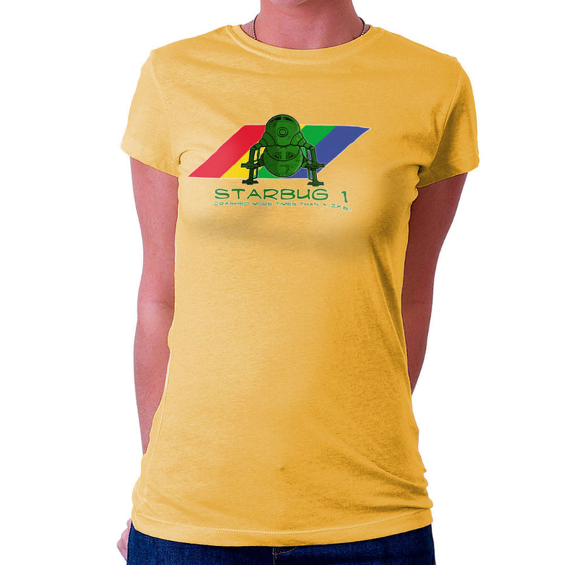 Red Dwarf Starbug 1 Crashed More Than ZX81 Spectrum Women's T-Shirt Women's T-Shirt Cloud City 7 - 18
