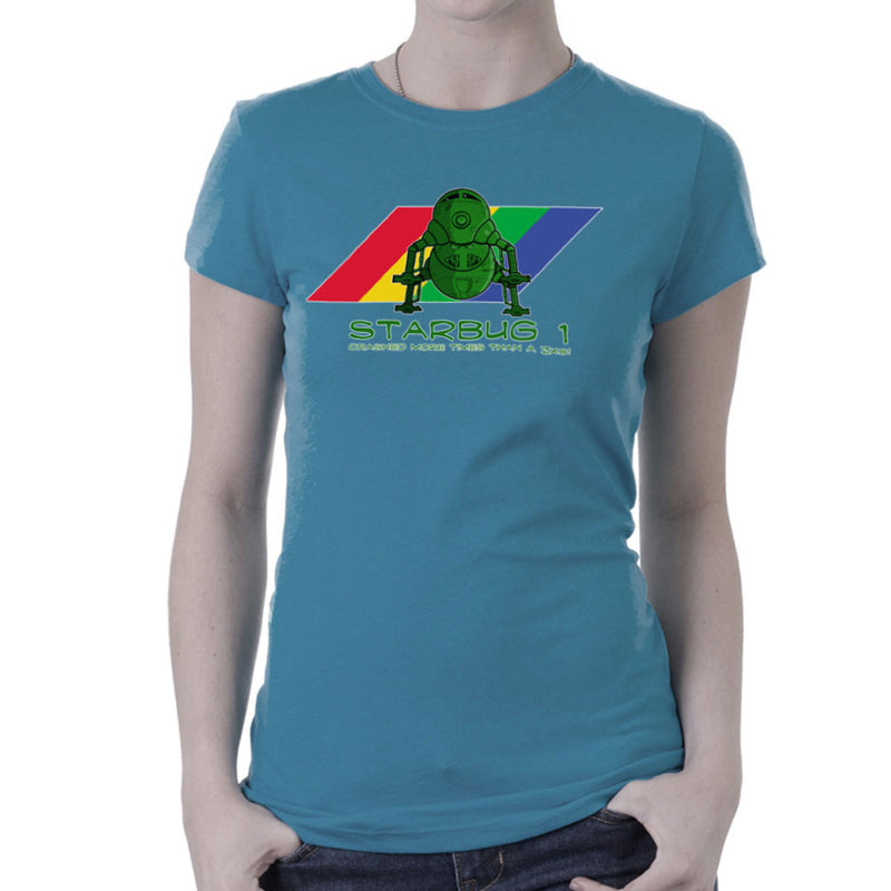Red Dwarf Starbug 1 Crashed More Than ZX81 Spectrum Women's T-Shirt Women's T-Shirt Cloud City 7 - 9