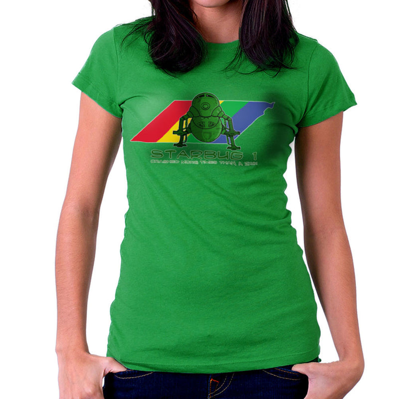 Red Dwarf Starbug 1 Crashed More Than ZX81 Spectrum Women's T-Shirt Women's T-Shirt Cloud City 7 - 14