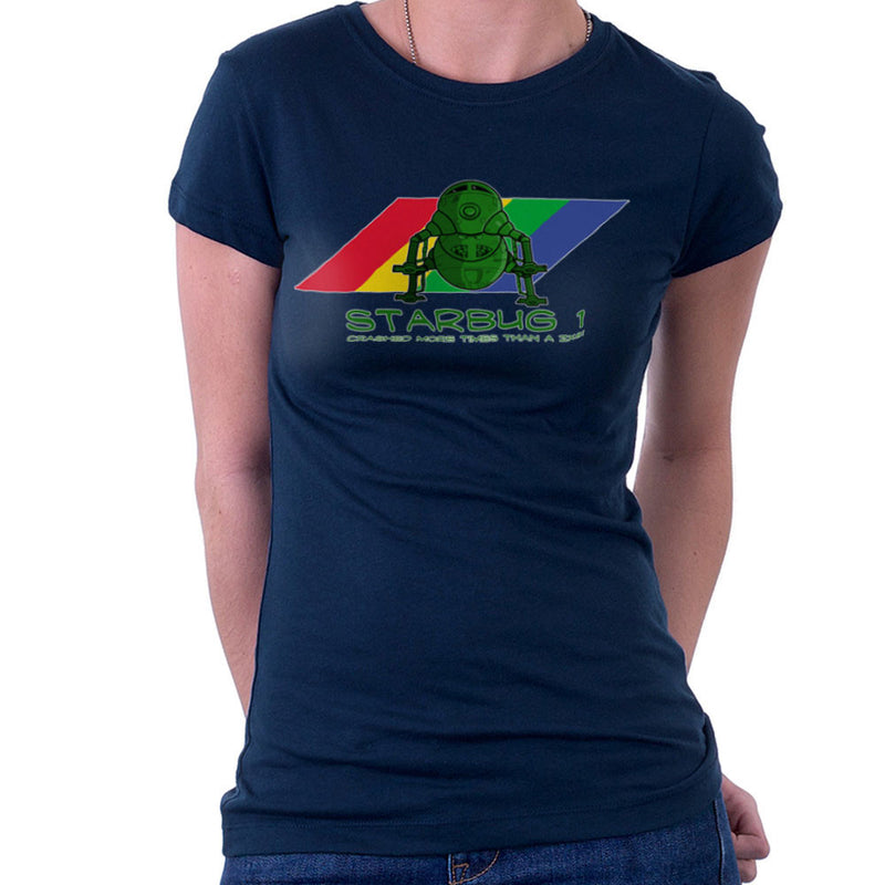 Red Dwarf Starbug 1 Crashed More Than ZX81 Spectrum Women's T-Shirt Women's T-Shirt Cloud City 7 - 7