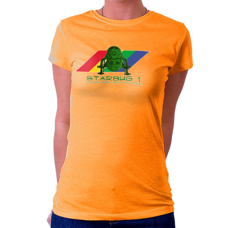 Red Dwarf Starbug 1 Crashed More Than ZX81 Spectrum Women's T-Shirt Women's T-Shirt Cloud City 7 - 17