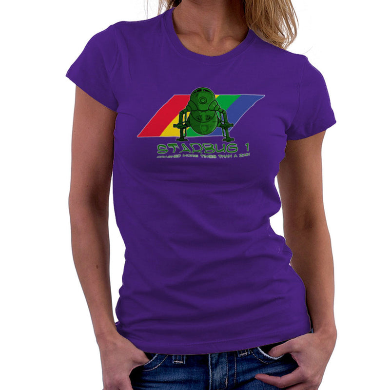 Red Dwarf Starbug 1 Crashed More Than ZX81 Spectrum Women's T-Shirt Women's T-Shirt Cloud City 7 - 19