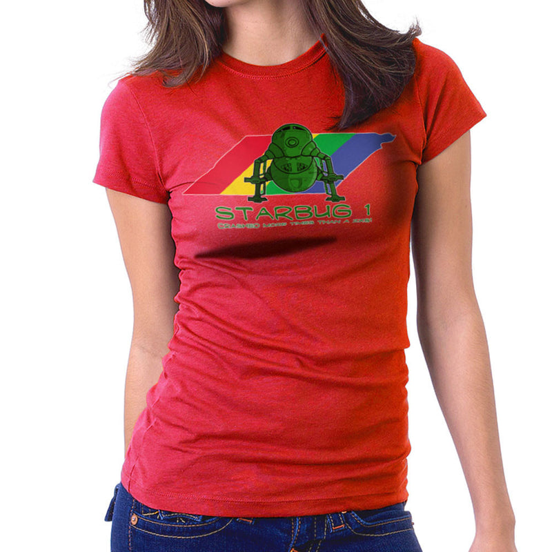 Red Dwarf Starbug 1 Crashed More Than ZX81 Spectrum Women's T-Shirt Women's T-Shirt Cloud City 7 - 16