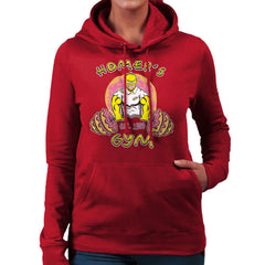 Homer's Gym est 1989 The Simpons Women's Hooded Sweatshirt Women's Hooded Sweatshirt Cloud City 7 - 15