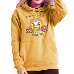 Homer's Gym est 1989 The Simpons Women's Hooded Sweatshirt Women's Hooded Sweatshirt Cloud City 7 - 18