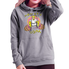 Homer's Gym est 1989 The Simpons Women's Hooded Sweatshirt Women's Hooded Sweatshirt Cloud City 7 - 5