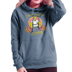 Homer's Gym est 1989 The Simpons Women's Hooded Sweatshirt Women's Hooded Sweatshirt Cloud City 7 - 9