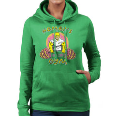 Homer's Gym est 1989 The Simpons Women's Hooded Sweatshirt Women's Hooded Sweatshirt Cloud City 7 - 14