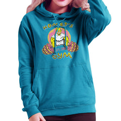 Homer's Gym est 1989 The Simpons Women's Hooded Sweatshirt Women's Hooded Sweatshirt Cloud City 7 - 1