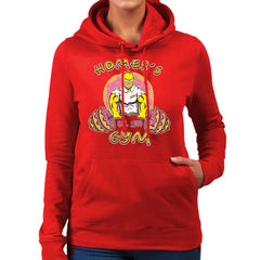 Homer's Gym est 1989 The Simpons Women's Hooded Sweatshirt Women's Hooded Sweatshirt Cloud City 7 - 16
