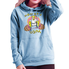 Homer's Gym est 1989 The Simpons Women's Hooded Sweatshirt Women's Hooded Sweatshirt Cloud City 7 - 11