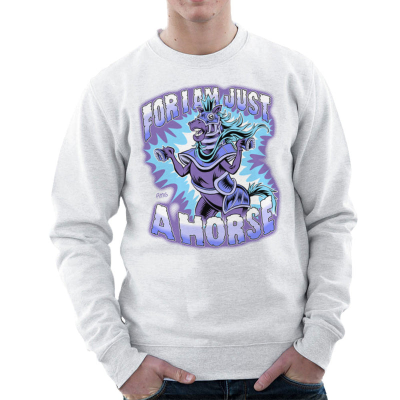 Bravest Warriors For I Am Just A Horse Men's Sweatshirt by Rynoarts - Cloud City 7