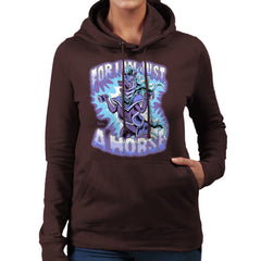 Bravest Warriors For I Am Just A Horse Women's Hooded Sweatshirt Women's Hooded Sweatshirt Cloud City 7 - 12