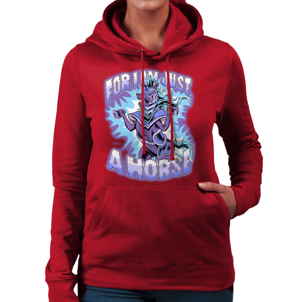 Bravest Warriors For I Am Just A Horse Women's Hooded Sweatshirt Women's Hooded Sweatshirt Cloud City 7 - 15