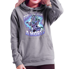 Bravest Warriors For I Am Just A Horse Women's Hooded Sweatshirt Women's Hooded Sweatshirt Cloud City 7 - 5