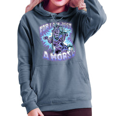 Bravest Warriors For I Am Just A Horse Women's Hooded Sweatshirt Women's Hooded Sweatshirt Cloud City 7 - 9