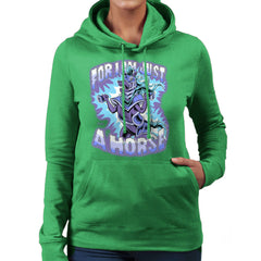 Bravest Warriors For I Am Just A Horse Women's Hooded Sweatshirt Women's Hooded Sweatshirt Cloud City 7 - 14