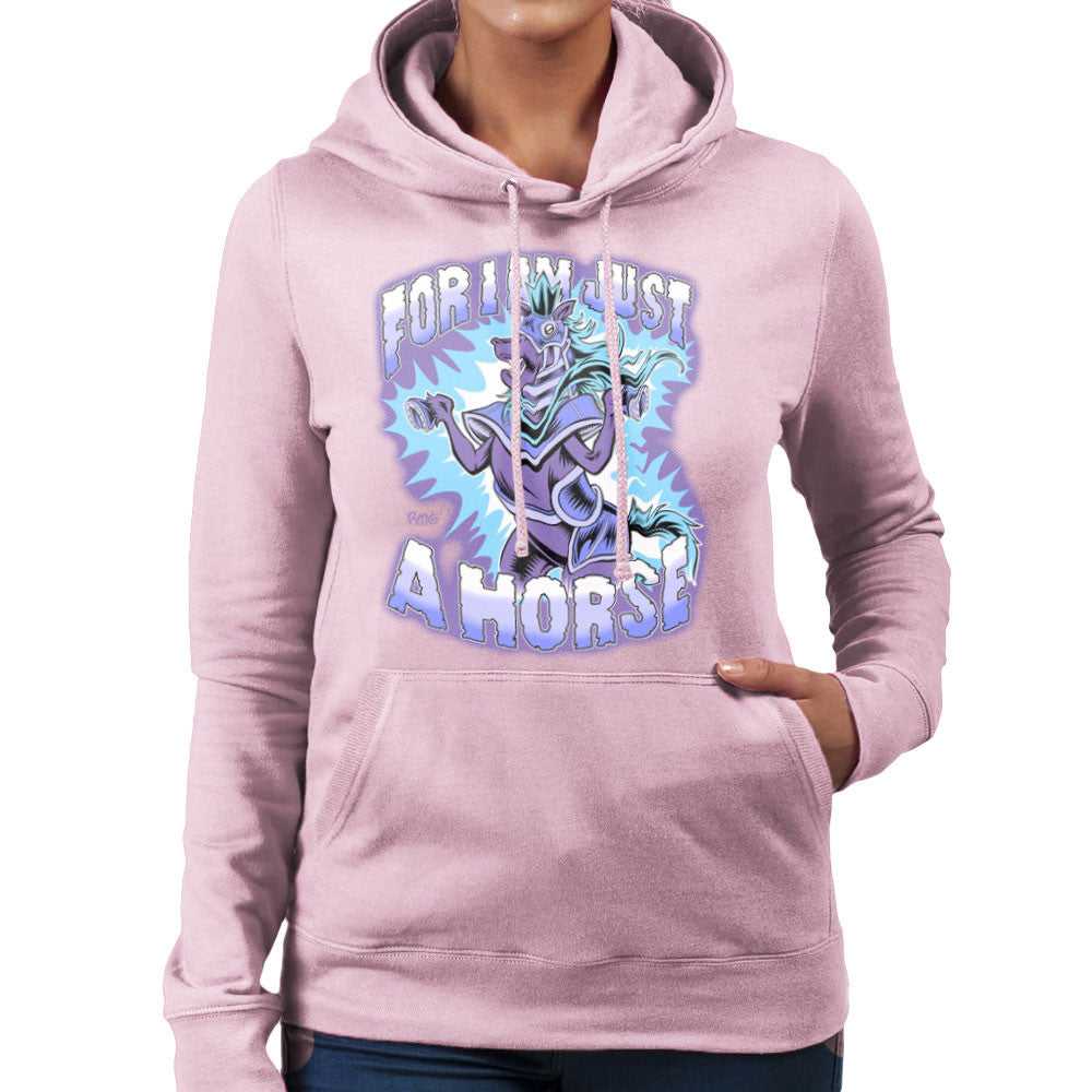 Bravest Warriors For I Am Just A Horse Women's Hooded Sweatshirt Women's Hooded Sweatshirt Cloud City 7 - 21