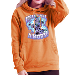 Bravest Warriors For I Am Just A Horse Women's Hooded Sweatshirt Women's Hooded Sweatshirt Cloud City 7 - 17