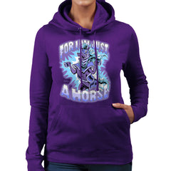 Bravest Warriors For I Am Just A Horse Women's Hooded Sweatshirt Women's Hooded Sweatshirt Cloud City 7 - 19