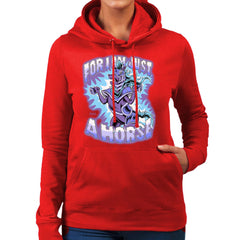 Bravest Warriors For I Am Just A Horse Women's Hooded Sweatshirt Women's Hooded Sweatshirt Cloud City 7 - 16