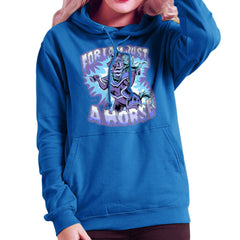 Bravest Warriors For I Am Just A Horse Women's Hooded Sweatshirt Women's Hooded Sweatshirt Cloud City 7 - 8