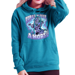 Bravest Warriors For I Am Just A Horse Women's Hooded Sweatshirt Women's Hooded Sweatshirt Cloud City 7 - 10