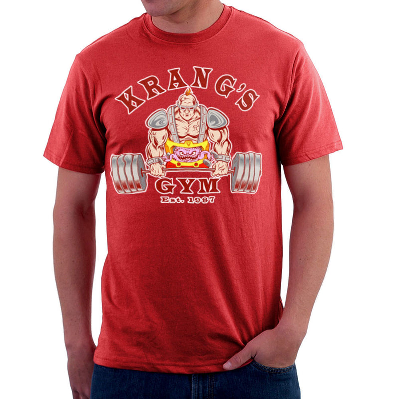 Krang's Gym est 1987 Teenage Mutant Ninja Turtles Men's T-Shirt by Rynoarts - Cloud City 7