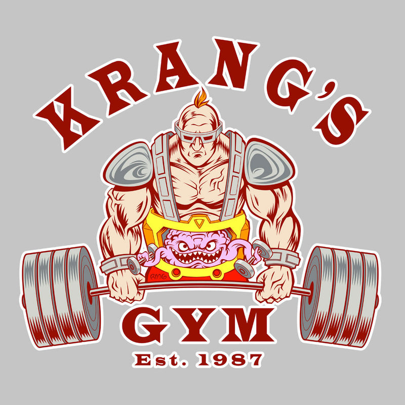 Krang's Gym est 1987 Teenage Mutant Ninja Turtles Women's Vest by Rynoarts - Cloud City 7