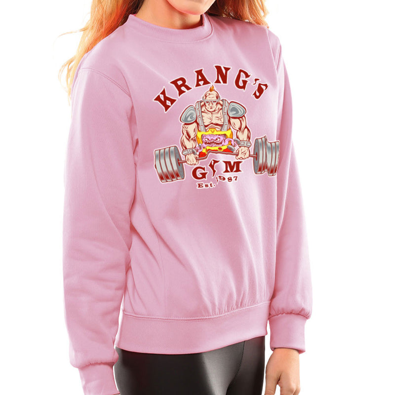 Krang's Gym est 1987 Teenage Mutant Ninja Turtles Women's Sweatshirt by Rynoarts - Cloud City 7