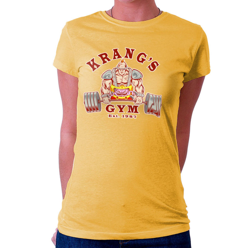 Krang's Gym est 1987 Teenage Mutant Ninja Turtles Women's T-Shirt by Rynoarts - Cloud City 7
