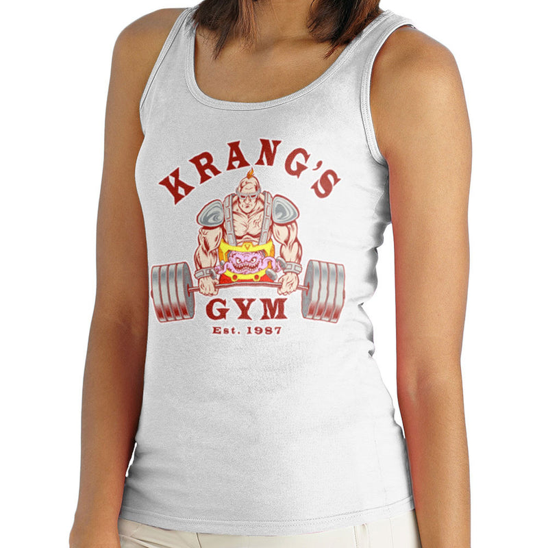 Krang's Gym est 1987 Teenage Mutant Ninja Turtles Women's Vest Women's Vest Cloud City 7 - 5