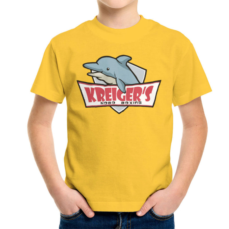 Archer Kreiger's Hobo Boxing Kid's T-Shirt by Sillicus - Cloud City 7