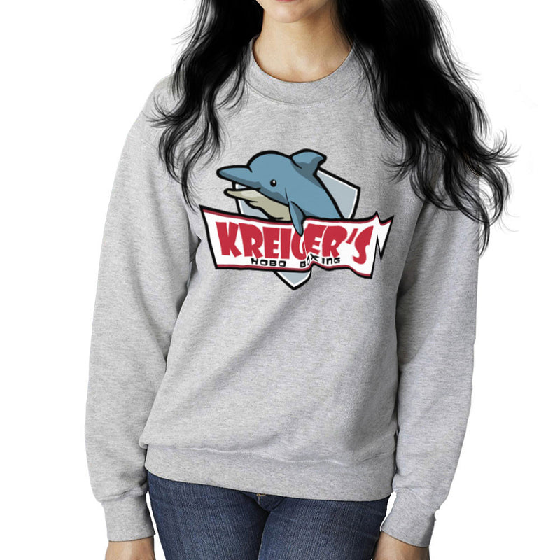 Archer Kreiger's Hobo Boxing Women's Sweatshirt by Sillicus - Cloud City 7