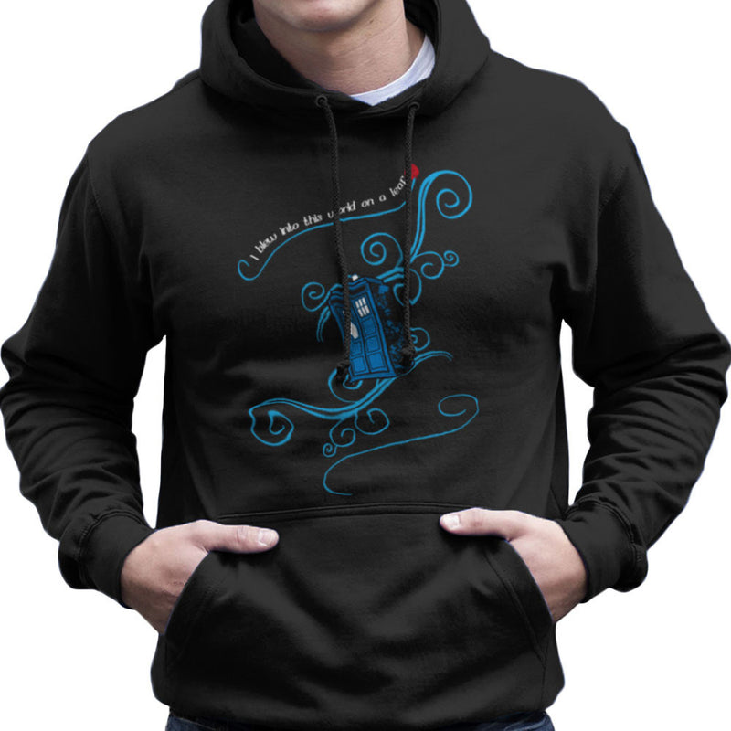 Dr Who Tardis I Blew Into This World On A Leaf Men's Hooded Sweatshirt by Sillicus - Cloud City 7