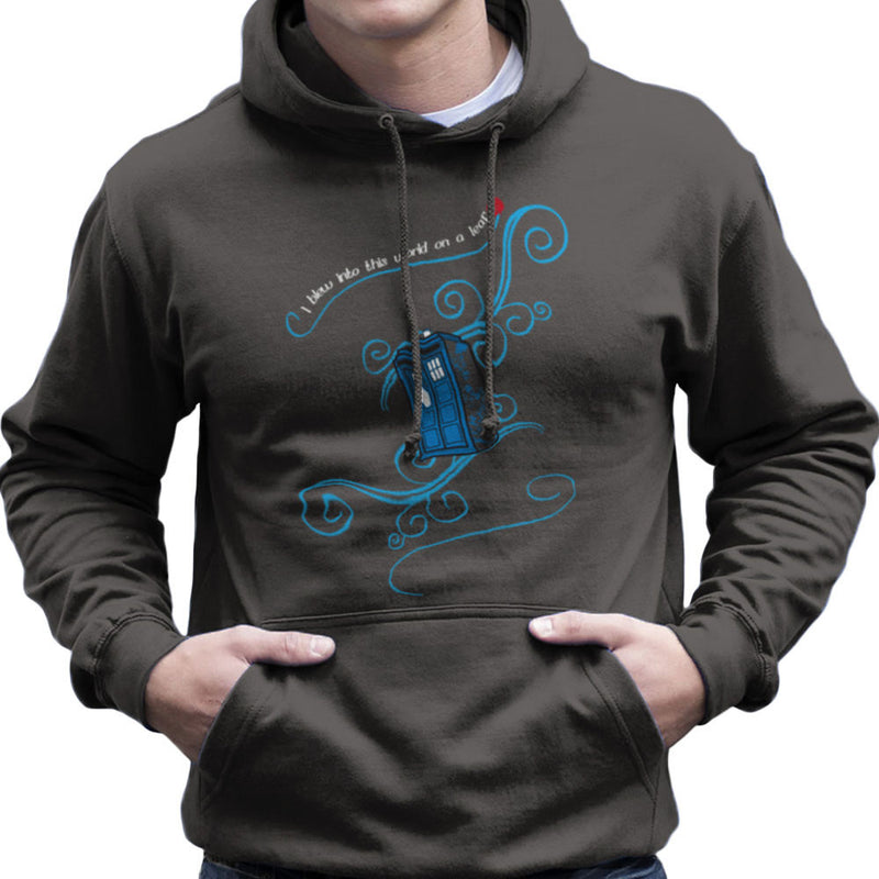 Dr Who Tardis I Blew Into This World On A Leaf Men's Hooded Sweatshirt Men's Hooded Sweatshirt Cloud City 7 - 4