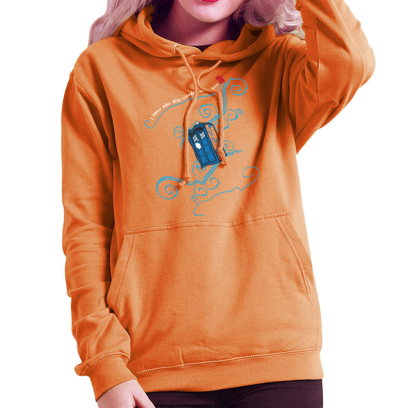 Dr Who Tardis I Blew Into This World On A Leaf Women's Hooded Sweatshirt Women's Hooded Sweatshirt Cloud City 7 - 17
