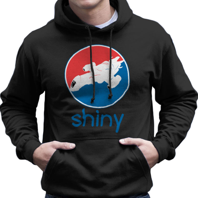 Firefly Serenity Shiny Pepsi Logo Men's Hooded Sweatshirt Men's Hooded Sweatshirt Cloud City 7 - 2