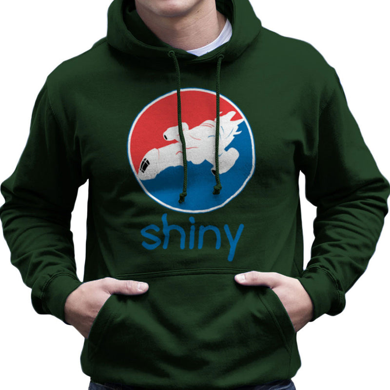 Firefly Serenity Shiny Pepsi Logo Men's Hooded Sweatshirt Men's Hooded Sweatshirt Cloud City 7 - 13