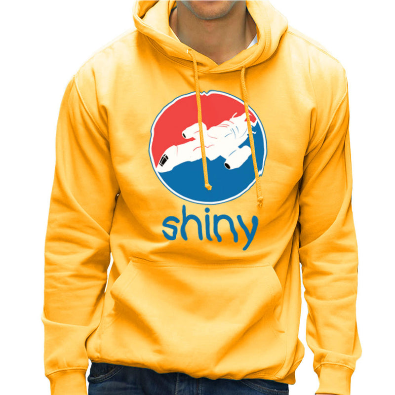 Firefly Serenity Shiny Pepsi Logo Men's Hooded Sweatshirt Men's Hooded Sweatshirt Cloud City 7 - 18