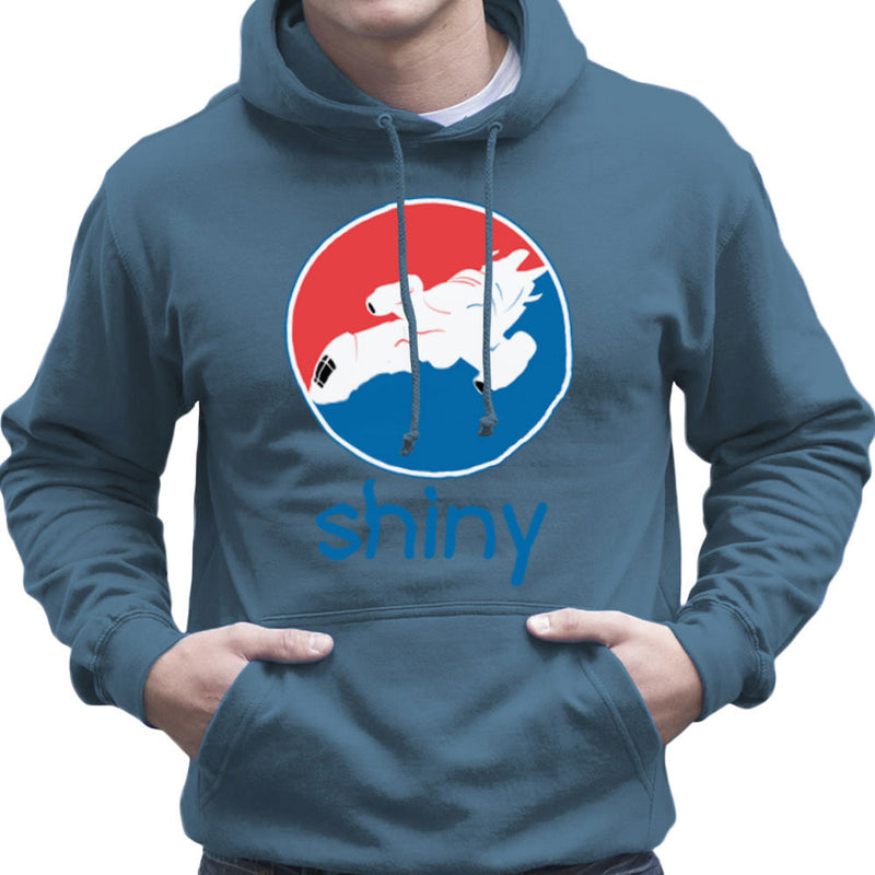Firefly Serenity Shiny Pepsi Logo Men's Hooded Sweatshirt Men's Hooded Sweatshirt Cloud City 7 - 9