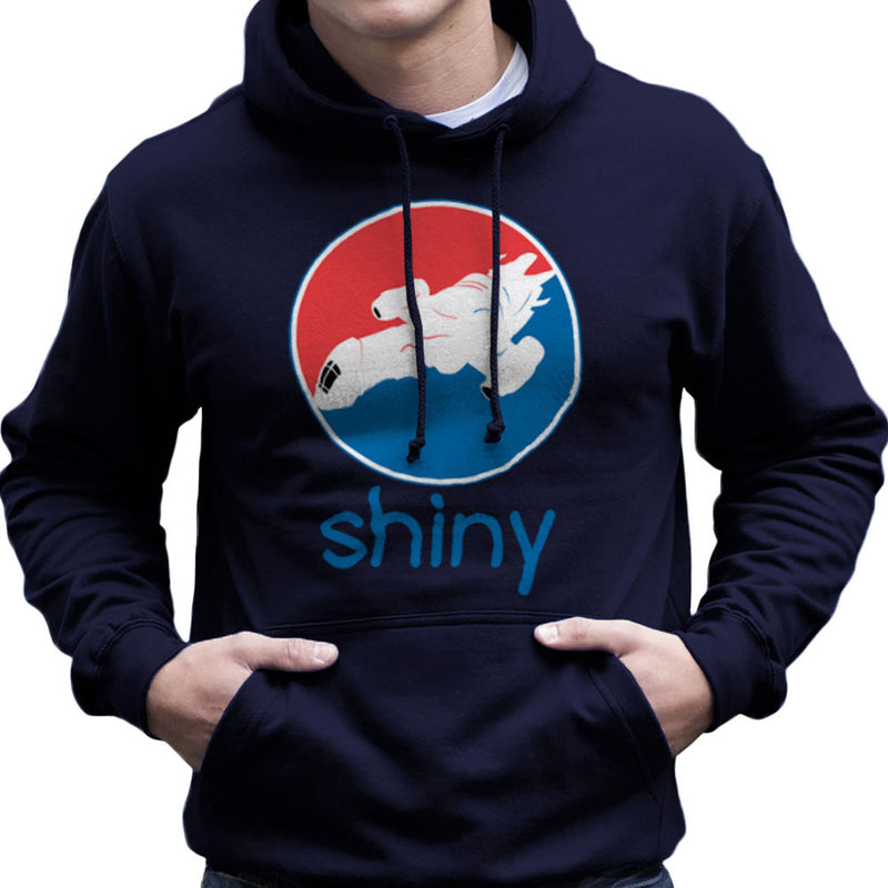 Firefly Serenity Shiny Pepsi Logo Men's Hooded Sweatshirt Men's Hooded Sweatshirt Cloud City 7 - 7