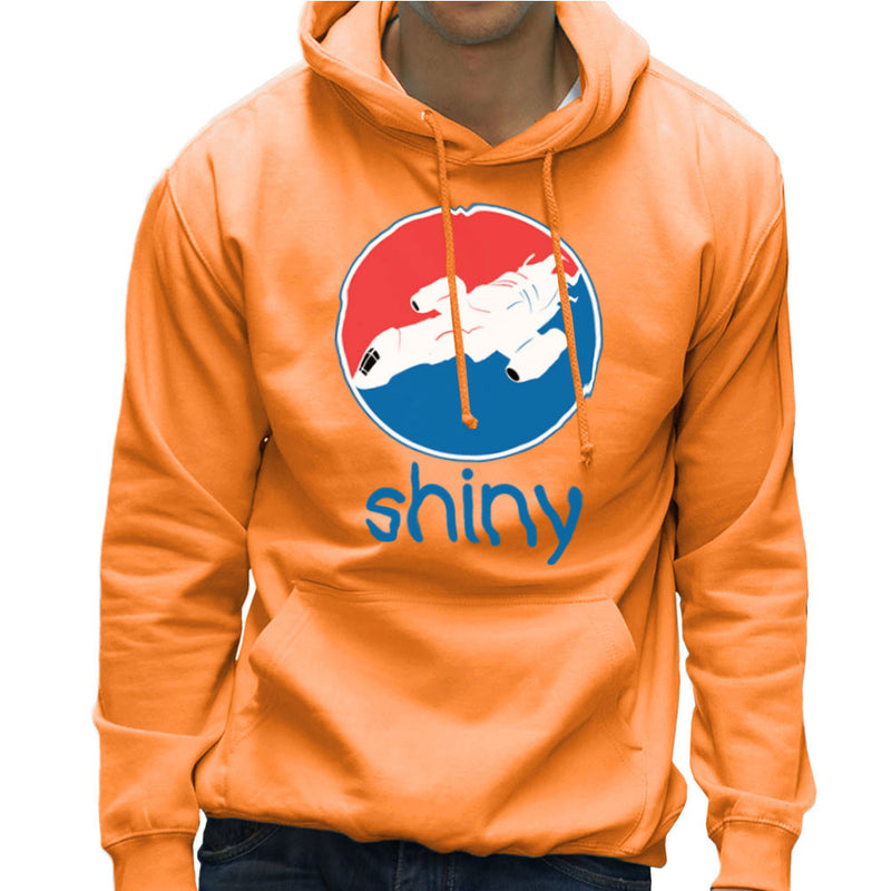 Firefly Serenity Shiny Pepsi Logo Men's Hooded Sweatshirt Men's Hooded Sweatshirt Cloud City 7 - 17
