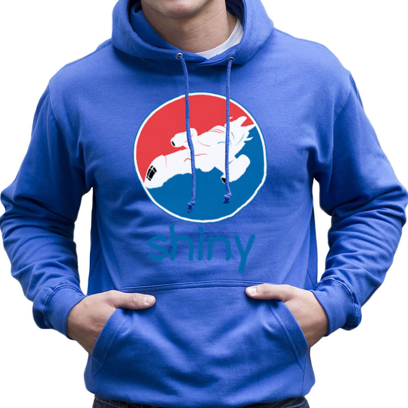 Firefly Serenity Shiny Pepsi Logo Men's Hooded Sweatshirt Men's Hooded Sweatshirt Cloud City 7 - 8