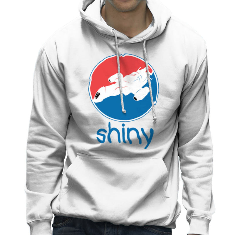 Firefly Serenity Shiny Pepsi Logo Men's Hooded Sweatshirt Men's Hooded Sweatshirt Cloud City 7 - 6