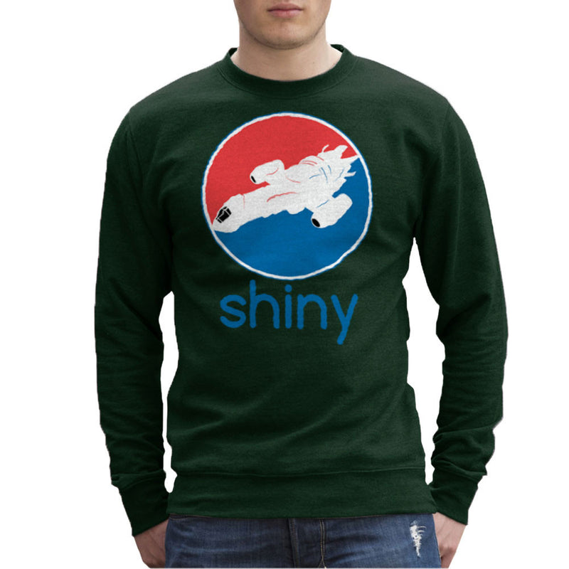 Firefly Serenity Shiny Pepsi Logo Men's Sweatshirt by Sillicus - Cloud City 7