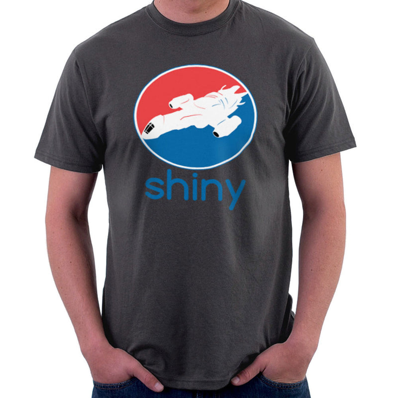 Firefly Serenity Shiny Pepsi Logo Men's T-Shirt by Sillicus - Cloud City 7