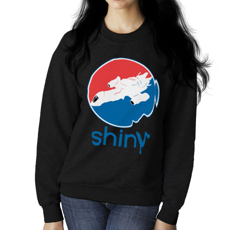 Firefly Serenity Shiny Pepsi Logo Women's Sweatshirt by Sillicus - Cloud City 7